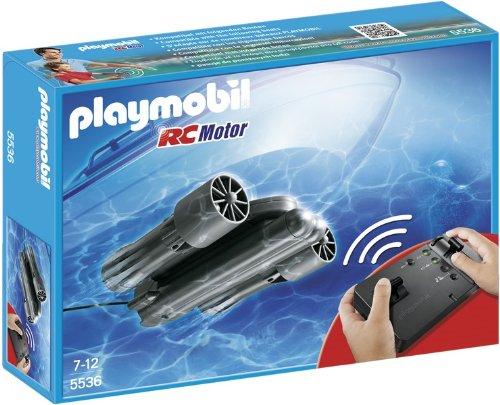 Playmobil 5536 - Motore Radiocomandato Subacqueo, Nero