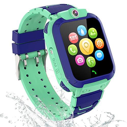 GPS Smartwatch Orologio Bambino - GPS Tracker Smartwatch Bambini Regalo per Ragazzi Ragazze, Kids...