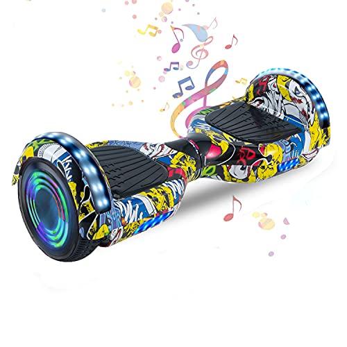 HappyBoard 6,5 Pollici Hoverboard Monopattini Elettrici Autobilanciati Scooter Elettrico...