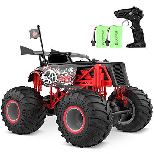 tech rc Macchina Telecomandata per Bambini 2.4GHz Auto Telecomandata 1:14 Monster Truck con Batterie...