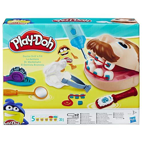 Hasbro Play-Doh- Play-Doh Dottor Trapanino, Colore, B5520EU4