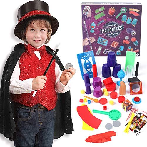 Tacobear Magia Costume Bambino con Trucchi di Magia Giochi Magia Costume di Ruolo Magia Kit per Bambini...