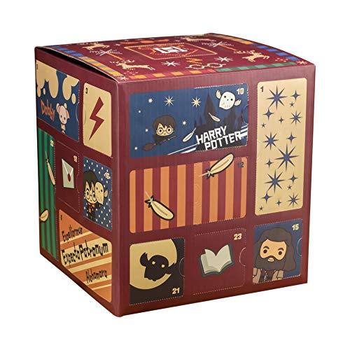 Paladone PP6239HP - Calendario dell'Avvento Harry Potter, cubo con 24 regali, giocattolo per il conto...