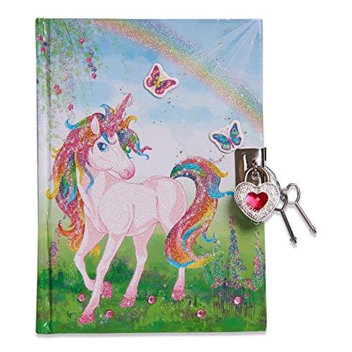 Lucy Locket - Diario Unicorno Magico (Set Scrittura, Carta per Lettere, diario Segreto con Lucchetto e...