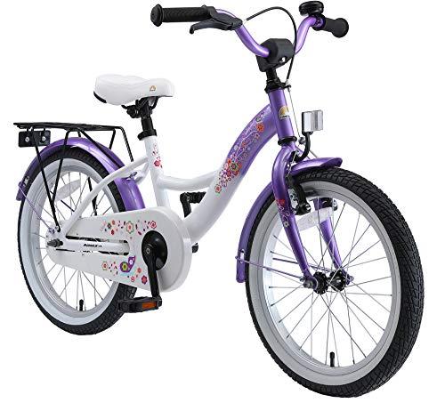 BIKESTAR Bicicletta Bambini 5-7 Anni Bici Bambino Bambina 18 Pollici Freno a Pattino e Freno a...