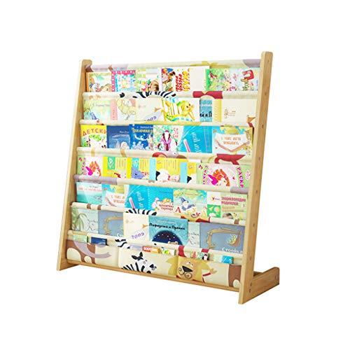 Librerie Bookshelf Portariviste Scaffale per Bambini Montaggio Semplice in Legno massello scaffale per...