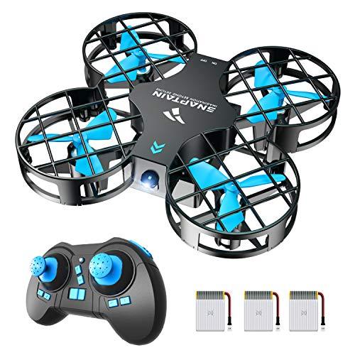 SNAPTAIN H823H Mini Drone per Bambini, Funzione Lancia&Vola, Funzione Hovering, Modalità Senza Testa,...