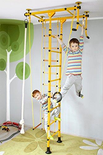NiroSport FitTop M1 Spalliera Ginnastica per Bambini Svedese, Sicurezza Testata, Facile Installazione,...