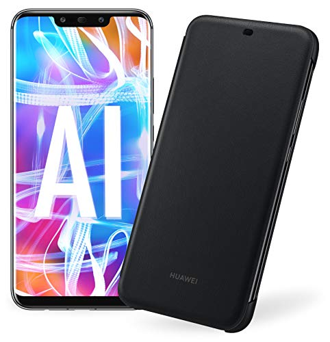 Huawei Mate 20 Lite più Flip Cover Nera originale, Telefono con 64 GB, Display 6.3' Full HD, Processore...