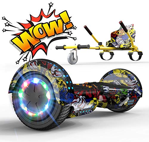 Hoverboard Elettrico Scooter con Hoverkart Go-Kart