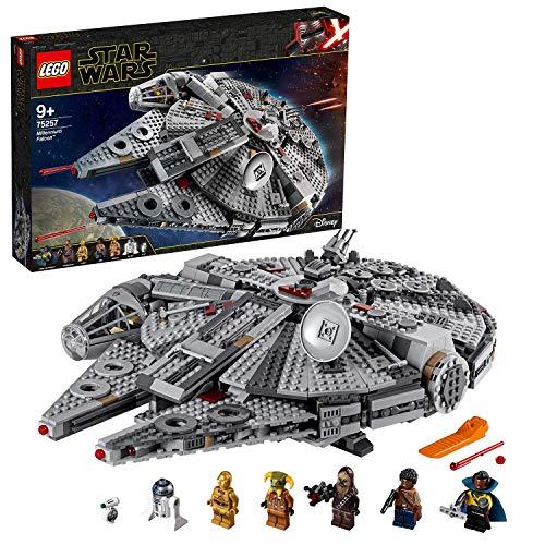 LEGO Star Wars Millennium Falcon, Set di Costruzioni dell'Iconica Astronave, con Finn, Chewbacca, Lando...