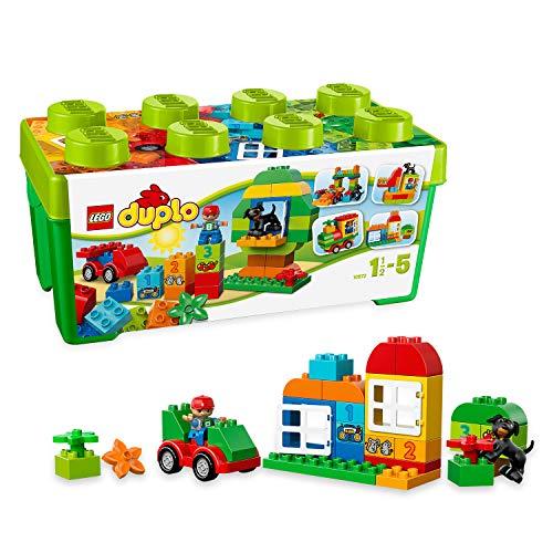LEGO duplo Scatola Costruzioni TuttoinUno, Verde, Colore, 10572