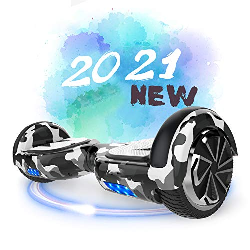 SOUTHERN-WOLF Hoverboard, Scooter Elettrico da 6,5 inch