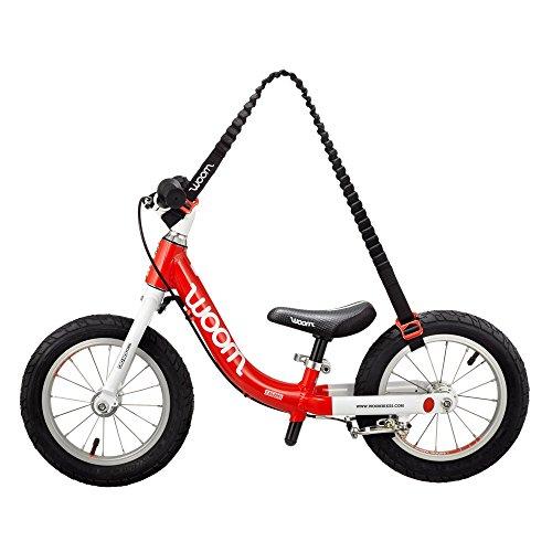 WOOM BIKES USA Balance Bike Carrier - Hands Frei, Red/Black by WOOM BIKES USA