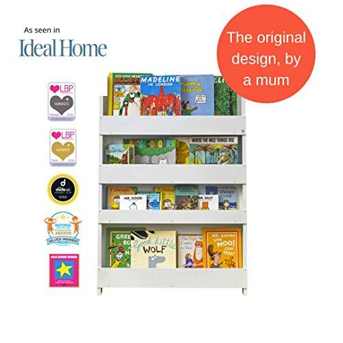 60x51x23 cm Multicolore Legno/_Composito Hello Home 470GGL Portalibri a Tasche Verticale