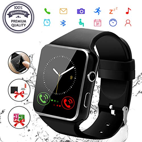 Smartwatch Android,Bluetooth Smart Watch Orologio Smartwatch Fotocamera Orologio Telefono con Sim Card...