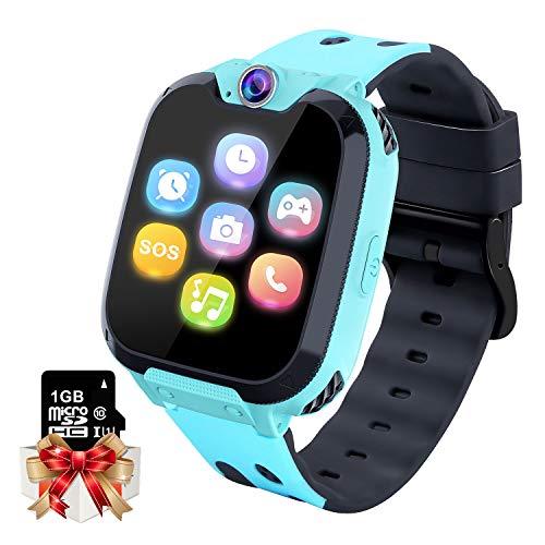 Smartwatch per Bambini Orologio da Gioco - Game Music Smart Watch (Include 1GB Micro SD Card) con Lettore...