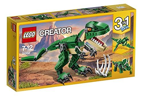 LEGOCreatorDinosauro,Modello3in1,FiguredelTriceratopoePterodattilo,SistemadiCo...