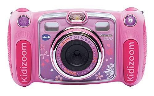 VTech - Fotocamera per Bambini KidiZoom Duo, Colore: Rosa