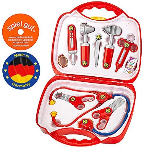 Theo Klein- Rescue Team Max & Dr. Kim Valigia Dottore, Giocattoli, Multicolore, 27x23x9.5c, 4383