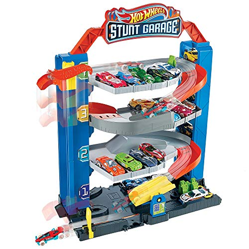 Hot Wheels Stunt Garage Play Set
