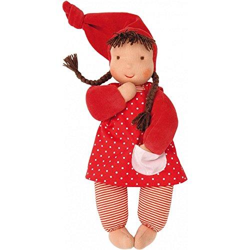 Käthe Kruse 38220 - Bambola, colore: rosso