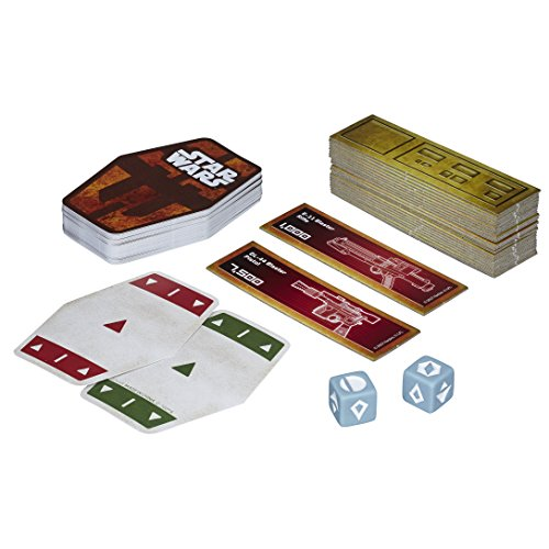 Star Wars E2445EU4 - Gioco di carte Han Solo