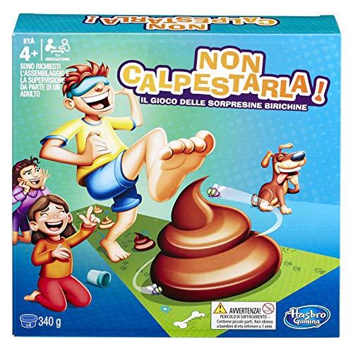 Hasbro Gaming-Non Calpestarla Edizione Standard (Gioco in Scatola), Multicolore, E2489103