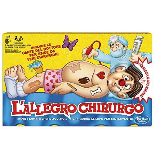 Hasbro Gaming B2176 L'Allegro Chirurgo (Gioco in Scatola), Età 6+