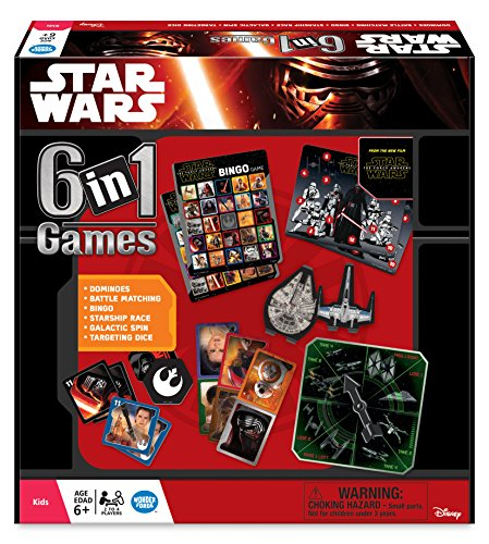 Star Wars - 6 in 1 Games - 22482 - Ravensburger by Ravensburger