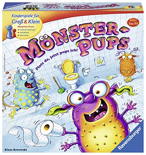 Ravensburger 567.179,5 cm Monster Pups Dice Game