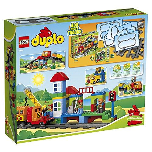 LEGO 5702014973343 Treno Deluxe Costruzioni Gioco Bambina Giocattolo Set di Pezzi, Multicolore, Set di...