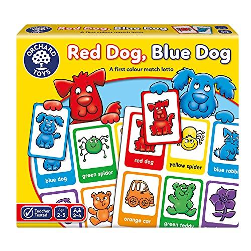 Orchard Toys - Gioco da tavola Red Dog, Blue Dog, 2-5 Anni [Lingua Inglese]