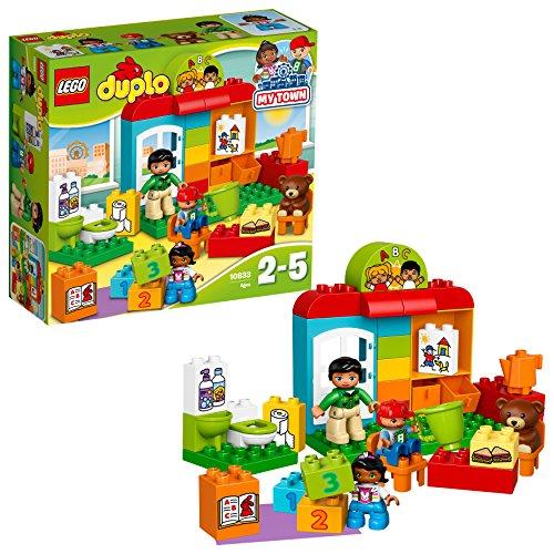 LEGO- Duplo L'Asilo Costruzioni Gioco Bambina Giocattolo, Multicolore, 10833
