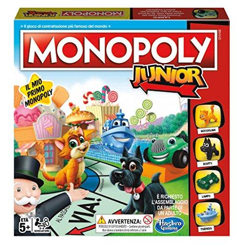Hasbro Gaming- Monopoly Junior, Versione 2018, A6984456