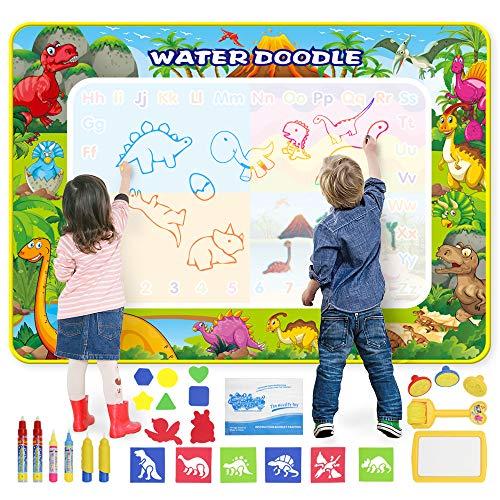 Tappetino da Disegno Doodle Tappeto Magic 160*120CM Super Grande Tappetino per pittura con 6 Penne...