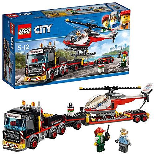 LEGO City - Great Vehicles Trasportatore Carichi Pesanti, Multicolore, 60183