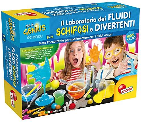 Lisciani Giochi I'm a Genius Laboratorio Fluidi Vischiosi, Multicolore, 62287