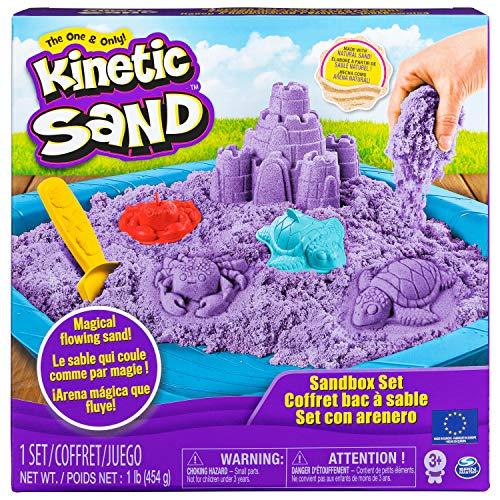 Kinetic Sand-Playset Castelli di Sabbia Modelli/Colori Assortiti, 6024397