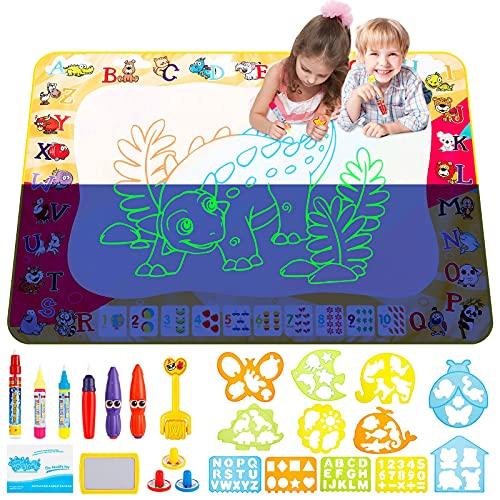 Acqua Doodle Tappeto zinuo 100 * 70 cm Tappetino da Disegno Doodle Tappeto Magic Tappeto per Disegnare...