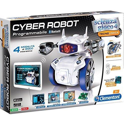 Clementoni Cyber Robot Scienza E Tecnologia Gioco Didattico Educativo Giocattolo 374, Multicolore,...