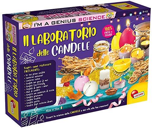 Liscianigiochi-68647 I'm a Genius Laboratorio delle Candele, Gioco per Bambini 6 Anni+, Multicolore,...