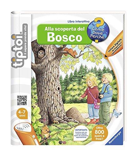 Tiptoi Libro alla Scoperta del Bosco