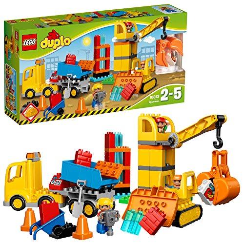 LEGO duplo Grande Cantiere, Multicolore, 10813