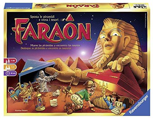 Ravensburger 26718 Faraon, Gioco da Tavolo, per 1-5 Giocatori, età Consigliata 7+
