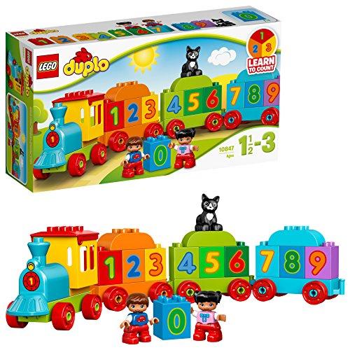 LEGO Duplo My First il Treno dei Numeri,  per Iniziare a Contare Divertendosi con Questo Colorato Treno...