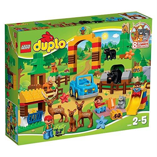 LEGO- Duplo Foresta: Parco Costruzioni Piccole Gioco Bambina Giocattolo, Multicolore, 5702015355209