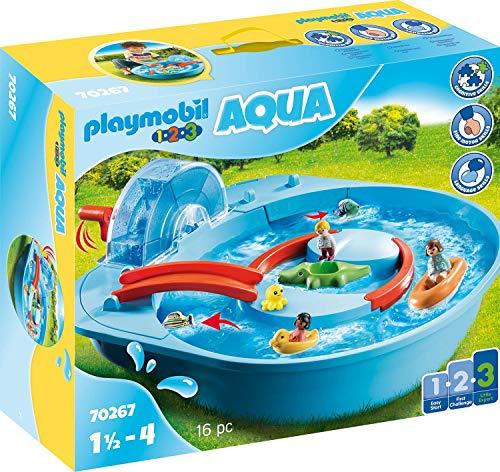 Playmobil 1.2.3 70267 - Giostra Acquatica, dai 18 mesi