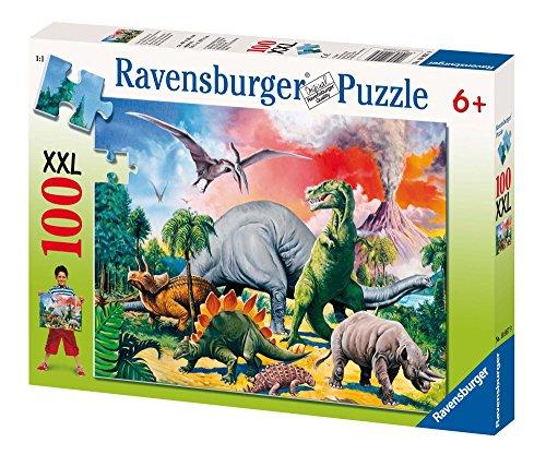Ravensburger 10957 Dinosauri Puzzle 100 Pezzi