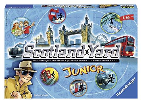 Ravensburger Italy- Gioco da Tavolo Scotland Yard Junior, 22289 6